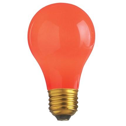 25A/R Satco S6090 25 Watt 130 Volt Incandescent Lamp