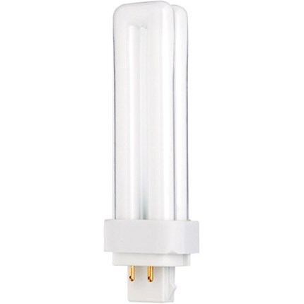 CF18DD/E/830 Satco S6734 18 Watt 120 Volt Compact Fluorescent Lamp