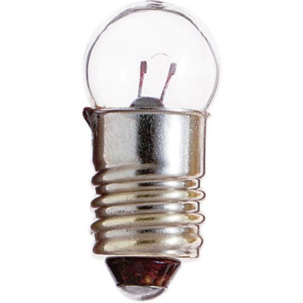 14 MIN (10 Pack) Satco S6931 1 Watt 2.47 Volt Miniature Lamp