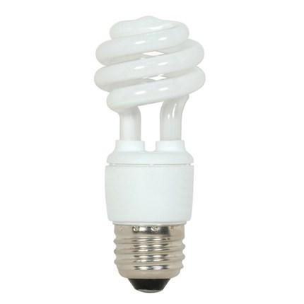 9T2/27 Satco S7211 9 Watt 120 Volt Compact Fluorescent Lamp