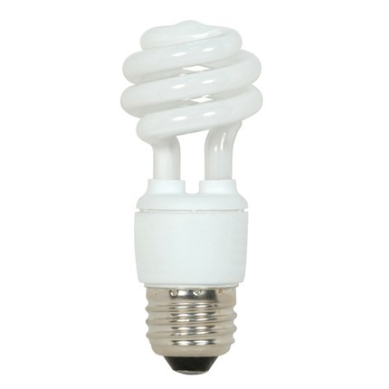 9T2/41 Satco S7212 9 Watt 120 Volt Compact Fluorescent Lamp
