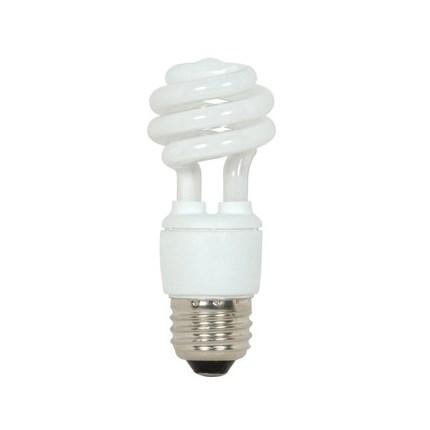 9T2/50 Satco S7213 9 Watt 120 Volt Compact Fluorescent Lamp