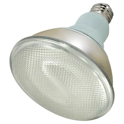 23PAR38/27 Satco S7279 23 Watt 120 Volt Compact Fluorescent Lamp