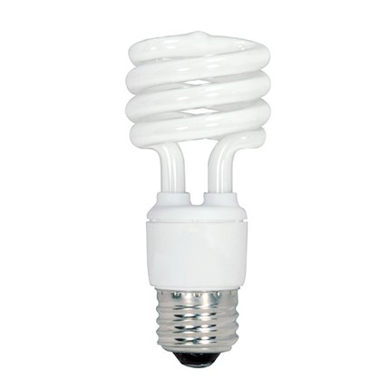 13T2/41/230V Satco S7412 13 Watt 230 Volt Compact Fluorescent Lamp