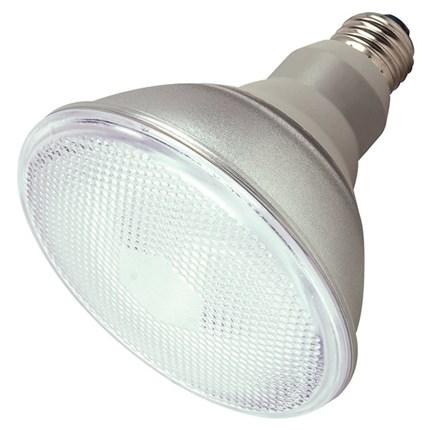 23PAR38/50 Satco S7422 23 Watt 230 Volt Compact Fluorescent Lamp