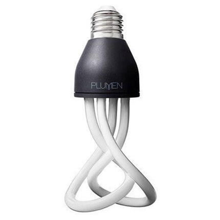 9T3/E26/2700K/BABY/PLUMEN Satco S7434 9 Watt 120 Volt Compact Fluorescent Lamp