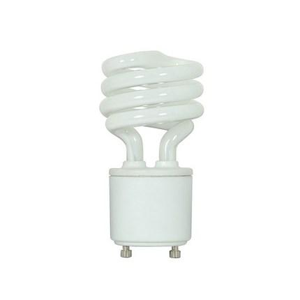 11GU24/27 Satco S8202 11 Watt 120 Volt Compact Fluorescent Lamp