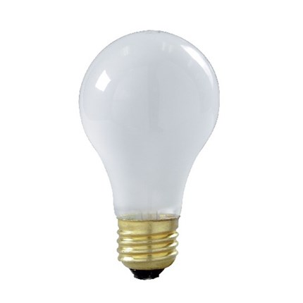 60A19/RS Satco S8522 60 Watt 130 Volt Incandescent Lamp