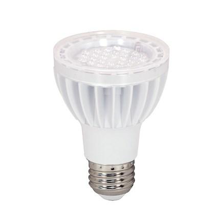 7PAR20/LED/40'/2700K/WH Satco S8921 7 Watt 120 Volt LED Lamp