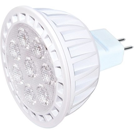 7MR16/LED/40'/27K/DIM Satco S9103 7 Watt 12 Volt LED Lamp