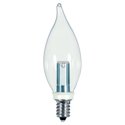 1W CFC/LED/CD Satco S9153 1 Watt 120 Volt LED Lamp