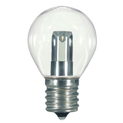 1.0W S11/CL/LED/E17/CD Satco S9167 1 Watt 120 Volt LED Lamp