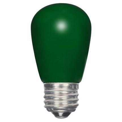 1.4W S14/GR/LED/CD Satco S9171 1 Watt 120 Volt LED Lamp