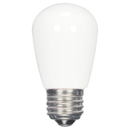 1.4W S14/FR/LED/CD Satco S9175 1 Watt 120 Volt LED Lamp